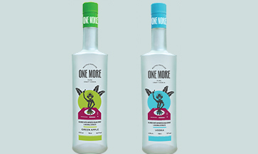 Alcobrew adds 'One More' craft vodka