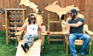Michigan designer makes a 'beer chair'