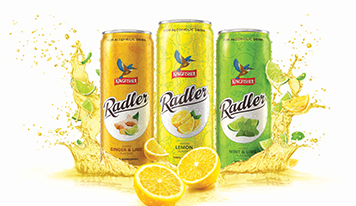Kingfisher Radler out in three flavours