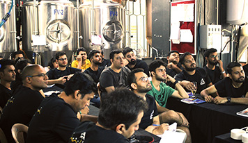 A boot camp for crafting beer