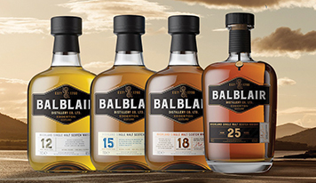 VINTAGES, AGE-STATEMENT RELEASES ARE BALBLAIR'S DNA